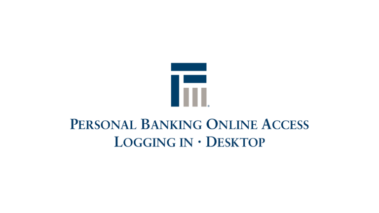 Personal Banking Online Access